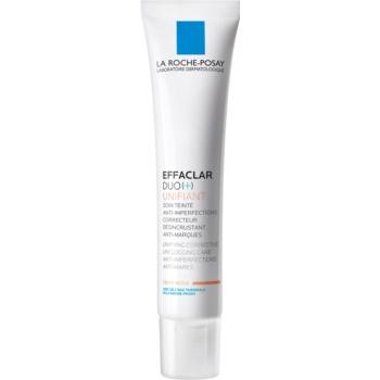 La Roche-Posay Effaclar DUO (+) Tonifiere unificatoare de îngrijire corectivă împotriva imperfecțiunilor pielii și urme de acnee imagine 2021 notino.ro