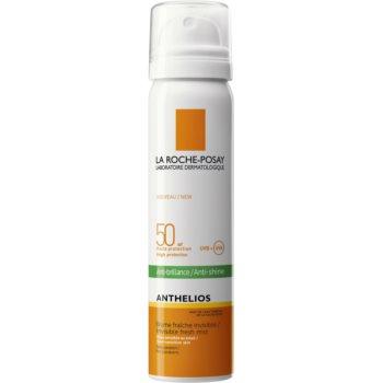 La Roche-Posay Anthelios spray revigorant pentru față anti-strălucire SPF 50 imagine 2021 notino.ro
