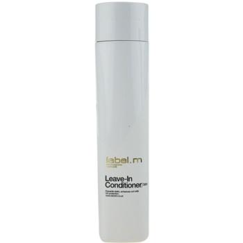 label.m Condition balsam (nu necesita clatire) pentru toate tipurile de păr imagine 2021 notino.ro