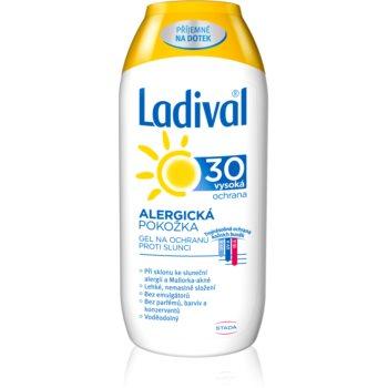 Ladival Allergic Lotiune protectie gel crema impotriva alergie la soare SPF 30 notino.ro