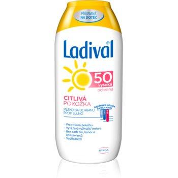 Ladival Sensitive lotiune de plaja pentru pielea sensibila SPF 50 imagine 2021 notino.ro