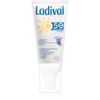 Ladival Allergic Lotiune protectie gel crema impotriva alergie la soare pentru fata, gat si piept imagine 2021 notino.ro
