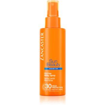 Lancaster Sun Beauty Oil-Free Milky Spray Ulei de protecție solară în spray SPF 30 imagine 2021 notino.ro