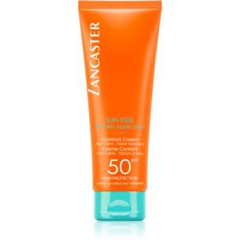 Lancaster Sun for Kids Comfort Cream crema pentru protecție solară rezistenta la apa SPF 50 imagine 2021 notino.ro