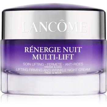 Lancôme Rénergie Nuit Multi-Lift cremă de noapte pentru fermitate și anti-ridr pentru față și gât notino poza