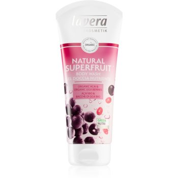 Lavera Natural Superfruit gel de dus delicat imagine 2021 notino.ro