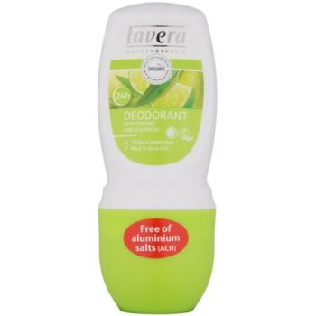 Lavera Body Spa Lime Sensation Deodorant roll-on notino.ro
