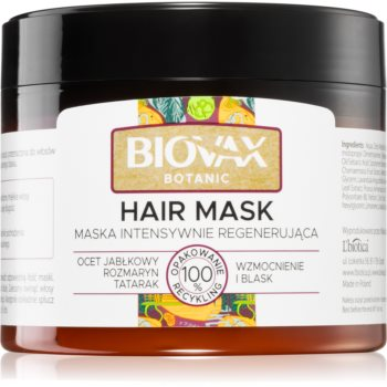 L'biotica Biovax Botanic masca de par regeneratoare imagine 2021 notino.ro