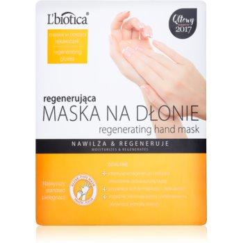 L'biotica Masks masca regeneratoare pentru maini sub formă de manusi imagine 2021 notino.ro