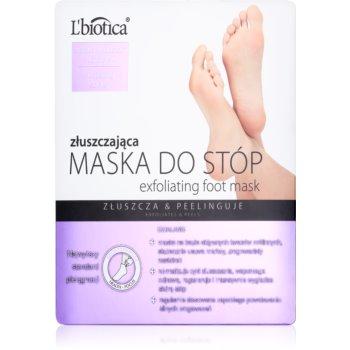 L'biotica Masks sosete exfoliante pentru hidratarea picioarelor notino.ro