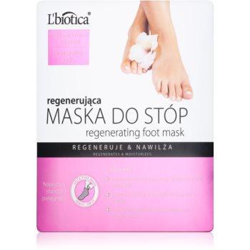 L'biotica Masks masca regeneratoare pentru picioare sub formă de șosete imagine 2021 notino.ro
