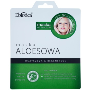 L'biotica Masks Aloe Vera masca pentru celule efect regenerator notino.ro