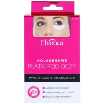 L'biotica Masks Masca de colagen pentru ochi cu efect antirid image0