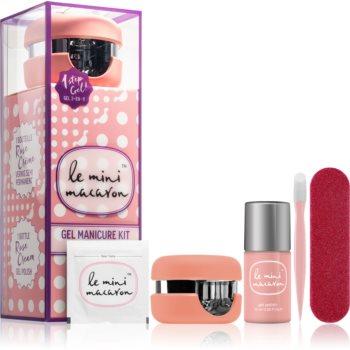 Le Mini Macaron Gel Manicure Kit Rose Creme set de cosmetice VI. (pentru unghii) pentru femei notino poza