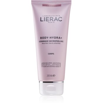 Lierac Body-Hydra+ crema exfolianta cu microgranule. imagine 2021 notino.ro