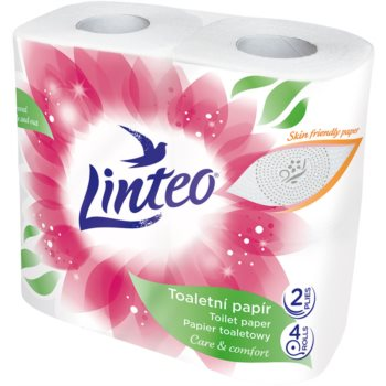 Linteo Care & Comfort Camomile hârtie igienică 4 pc imagine 2021 notino.ro