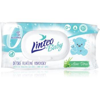 Linteo Baby Pure & Fresh servetele delicate pentru copii cu aloe vera imagine 2021 notino.ro