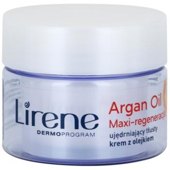 Lirene Essential Oils Argan crema Intensiv Regeneratoare pentru tenul uscat imagine 2021 notino.ro