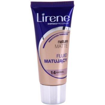 Lirene Nature Matte Make-up lichid matifiant pentru un efect de lunga durata imagine 2021 notino.ro
