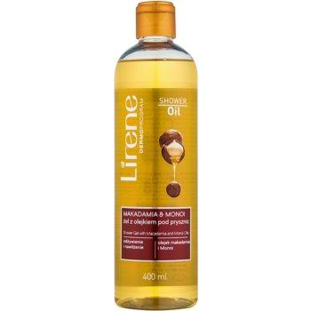 Lirene Shower Oil gel de duș cu ulei de macadamia și monoi imagine 2021 notino.ro