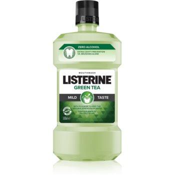 Listerine Green Tea apa de gura pentru a intari smaltul dintilor imagine 2021 notino.ro
