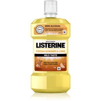 Listerine Fresh Ginger & Lime apa de gura racoritoare imagine 2021 notino.ro