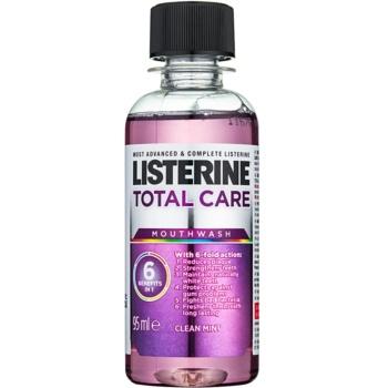 Listerine Total Care Clean Mint Apa de gura pentru protectia completa a dintilor 6 in 1 imagine 2021 notino.ro