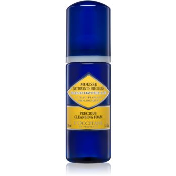 L'Occitane Immortelle Precious Cleansing Foam spuma de curatat pentru toate tipurile de ten imagine 2021 notino.ro