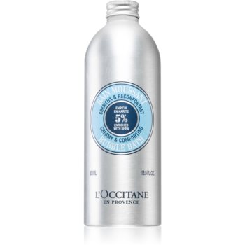 L'Occitane Shea Butter Creamy & Comforting Bubble Bath spuma de baie unt de shea imagine 2021 notino.ro