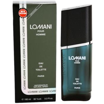 Lomani Pour Homme Eau de Toilette pentru bărbați imagine 2021 notino.ro