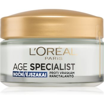 L'Oréal Paris Age Specialist 55+ crema de noapte antirid imagine 2021 notino.ro