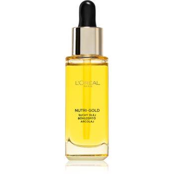 L'Oréal Paris Nutri-Gold ulei hranitor pentru piele imagine 2021 notino.ro