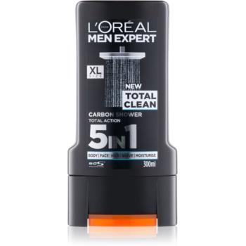 L'Oréal Paris Men Expert Total Clean gel de duș 5 in 1 imagine 2021 notino.ro