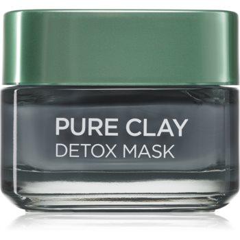 L'Oréal Paris Pure Clay mască detoxifiantă imagine 2021 notino.ro