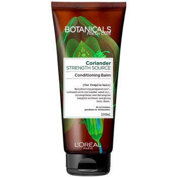 L'Oréal Paris Botanicals Strength Cure balsam pentru par deteriorat notino.ro