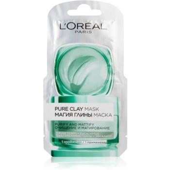 L'Oréal Paris Pure Clay spumă de curățare cu efect matifiant imagine 2021 notino.ro