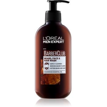 L'Oréal Paris Barber Club gel de curățat pentru față, barbă și păr imagine 2021 notino.ro