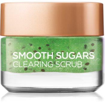 L'Oréal Paris Smooth Sugars Scrub exfoliant de curățare impotriva punctelor negre imagine 2021 notino.ro