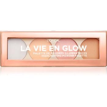 L'Oréal Paris Wake Up & Glow La Vie En Glow paleta cu crema iluminatoare notino.ro
