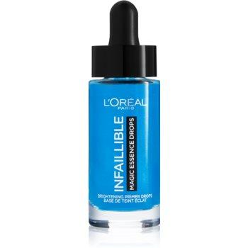 L'Oréal Paris Infallible Magic Essence Drops bază pentru machiaj iluminatoare imagine 2021 notino.ro