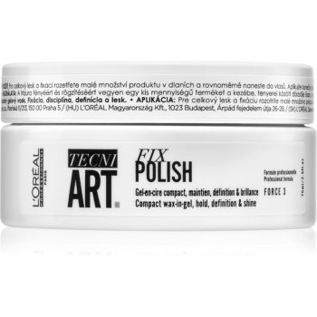 L'Oréal Professionnel Tecni.Art Fix Polish ceara gel pentru păr imagine 2021 notino.ro