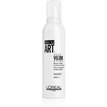 L'Oréal Professionnel Tecni.Art Full Volume Extra spuma pentru fixare puternica pentru volum imagine 2021 notino.ro