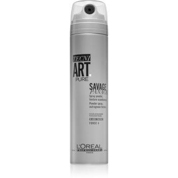 L'Oréal Professionnel Tecni.Art Savage Panache Pure pudră sub formă de spray pentru păr imagine 2021 notino.ro