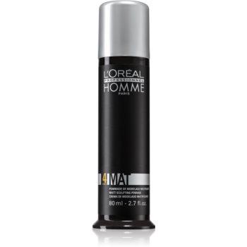 L'Oréal Professionnel Homme 4 Force Mat pasta pentru modelat pentru un aspect mat imagine 2021 notino.ro
