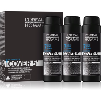 L'Oréal Professionnel Homme Cover 5' vopsea de par tonifianta 3 pc imagine 2021 notino.ro