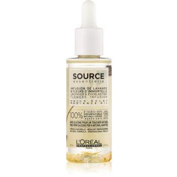 L'Oréal Professionnel Source Essentielle Huile Éclat ulei pentru strălucirea părului vopsit imagine 2021 notino.ro