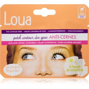 Loua Eyes Contour Strips Anti Shadow Masca pentru ochi pentru reducerea cearcanelor image0