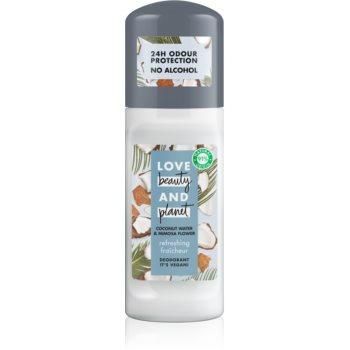 Love Beauty & Planet Refreshing deodorant roll-on imagine 2021 notino.ro