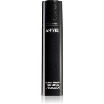 MAC Cosmetics Prep + Prime Natural Radiance baza de machiaj pentru ten gras și mixt imagine 2021 notino.ro