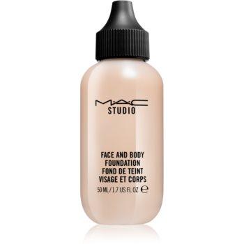 MAC Cosmetics Studio make-up cu textura usoara pentru fata si corp notino.ro